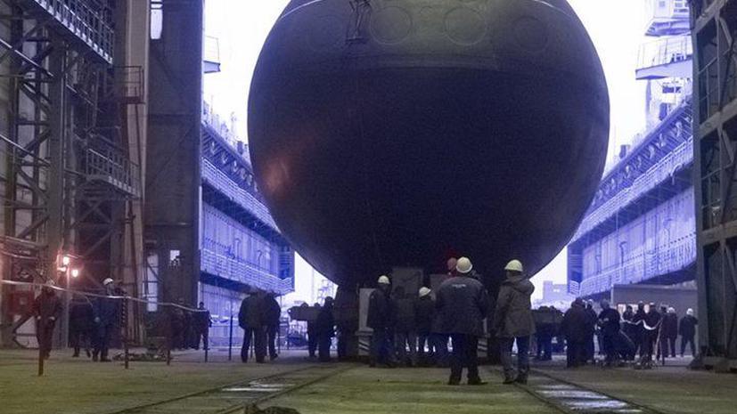 Первая дизель-электрическая подводная лодка проекта «Новороссийск» спущена на воду в Санкт-Петербурге