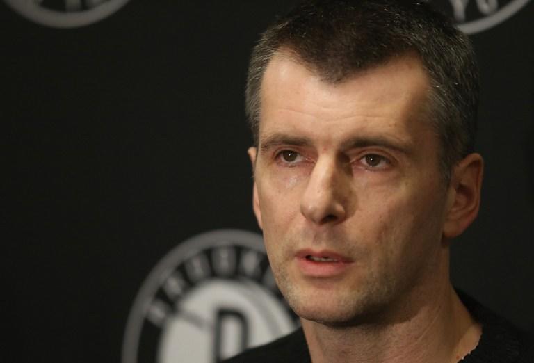 Михаил Прохоров переоформит клуб НБА «Бруклин Нетс» на российскую компанию