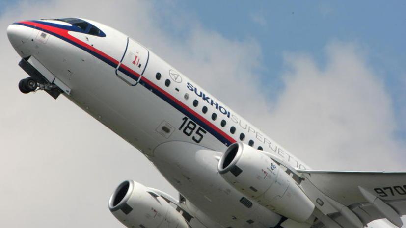 «Аэрофлот» признался в убыточности самолётов Superjet-100