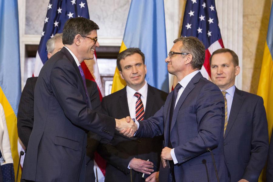 Минфин США: В мае Украина может получить от Запада помощь в размере $5,9 млрд