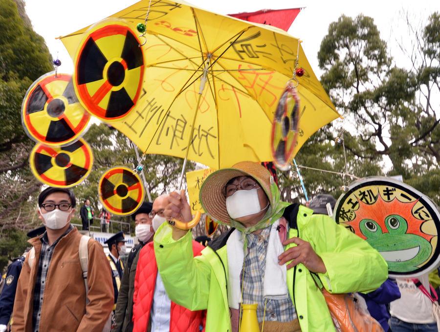 Спустя 2 года после «Фукусимы» в Японии прошли многотысячные акции против развития АЭС