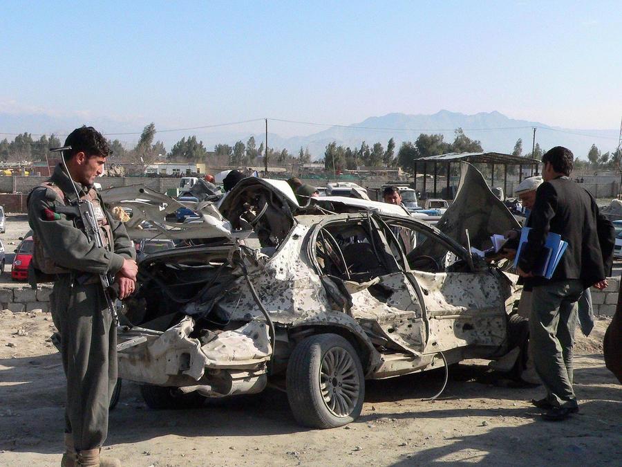 Взрыв возле посольства Индии в Афганистане: есть жертвы