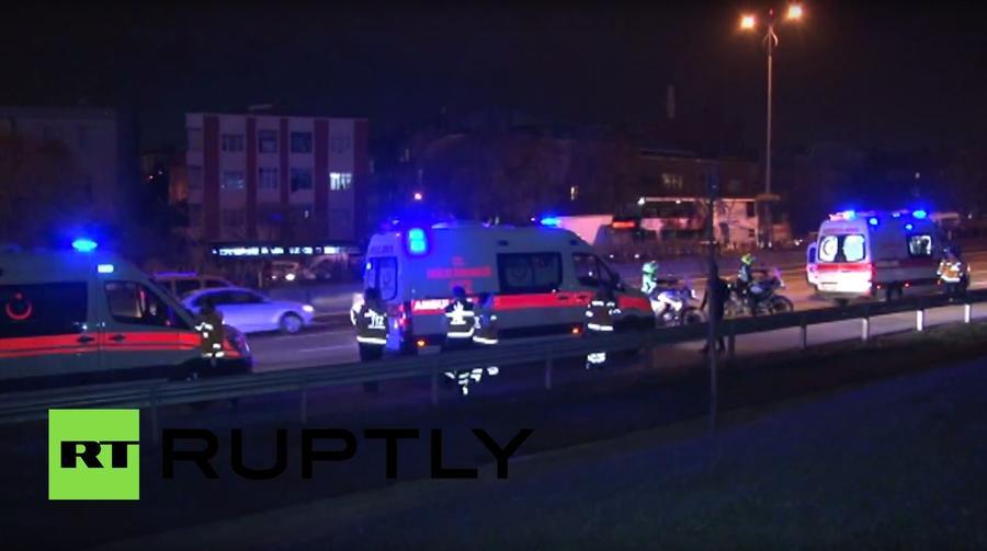 На станции метро в Стамбуле прогремел мощный взрыв