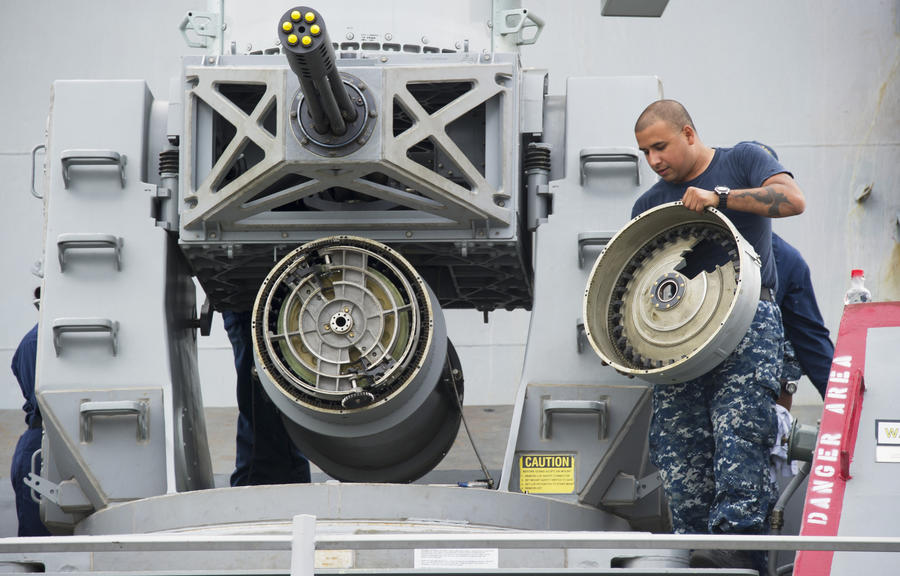 ВМФ США начинает печатать детали для кораблей на 3D-принтере