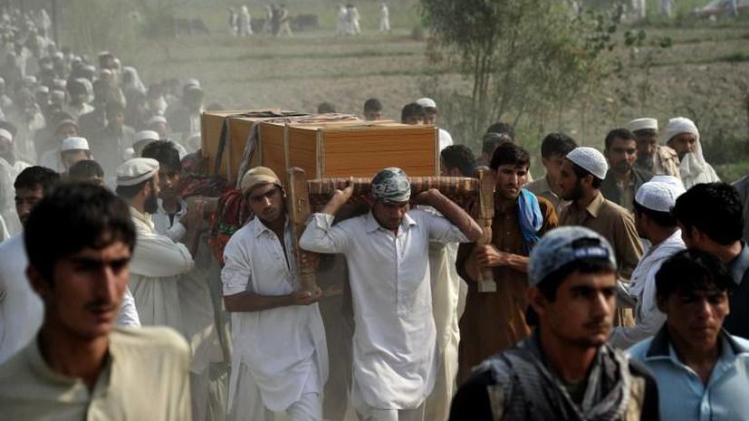 В результате авиаудара НАТО погибло пять мирных афганцев, в том числе трое детей