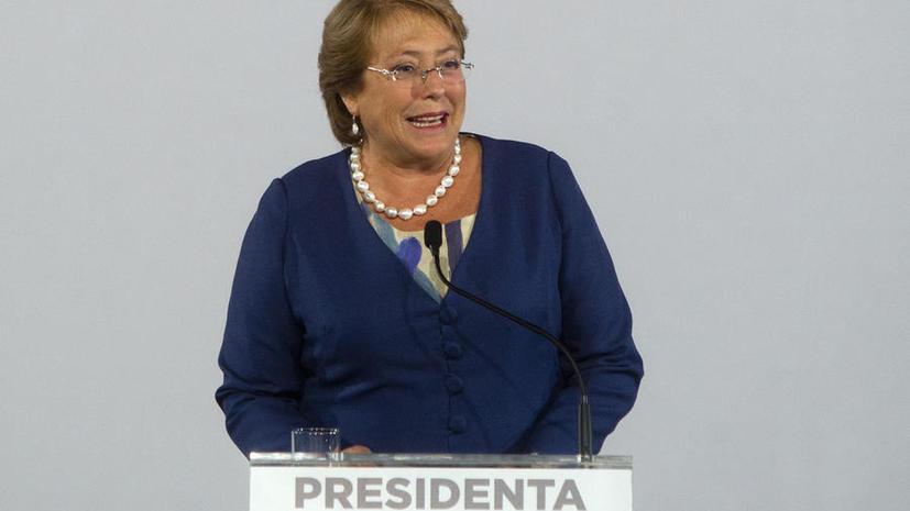 В Чили президентом стала глава левой коалиции Мишель Бачелет