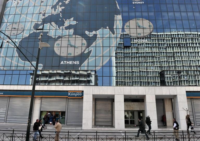 Разорившимся предпринимателям Греции начали выплачивать пособия по безработице