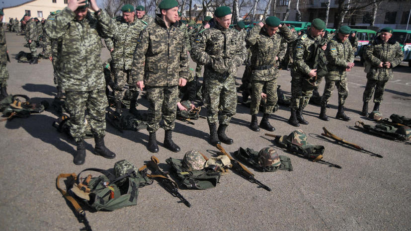 КиберБеркут: Украинские солдаты массово дезертируют из армии
