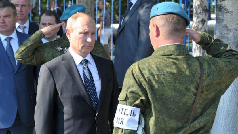 СМИ: Президент сможет самостоятельно отправлять спецназ за границу