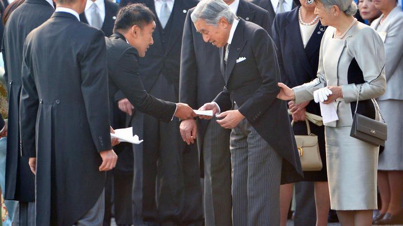 Японский депутат передал императору письмо о проблемах «Фукусимы» и навлёк на себя гнев общества