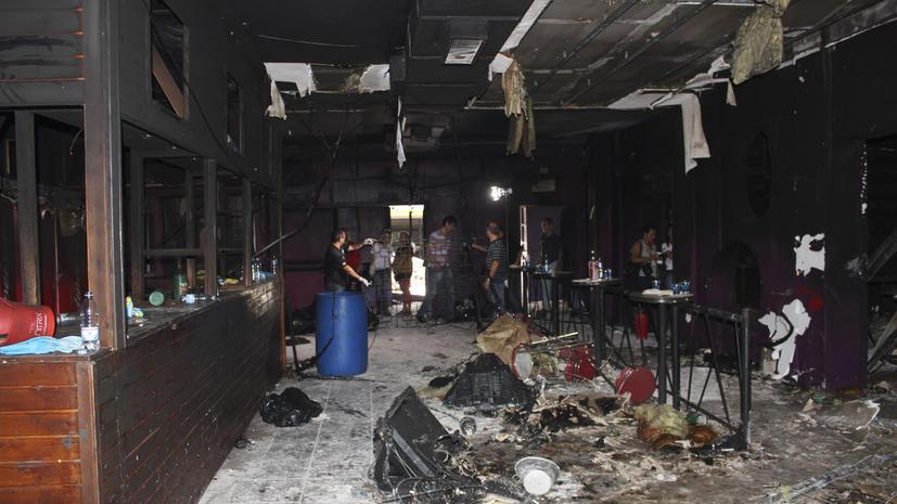 Совладелец сгоревшего в Бразилии клуба пытался покончить с собой