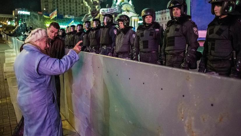На Украине после разгона митинга сторонников евроинтеграции возбуждено два уголовных дела