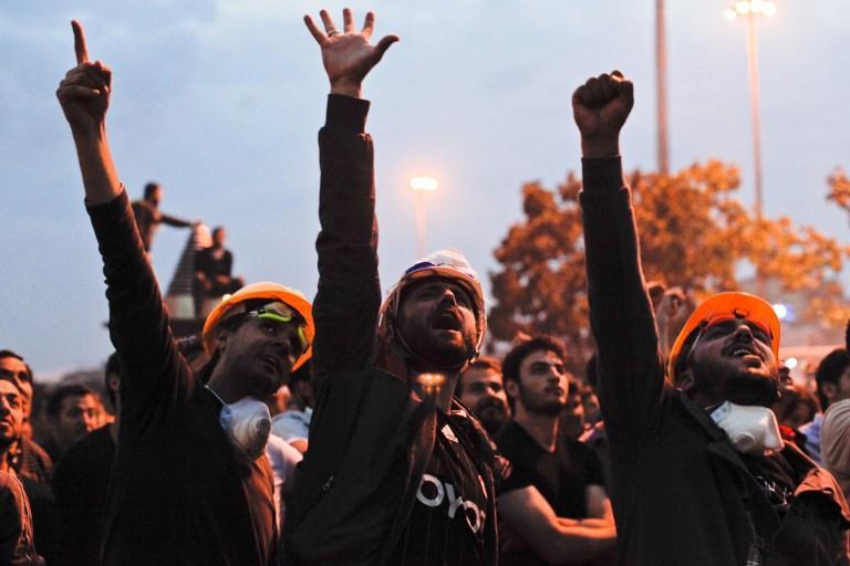 Шестой день протестов в Турции