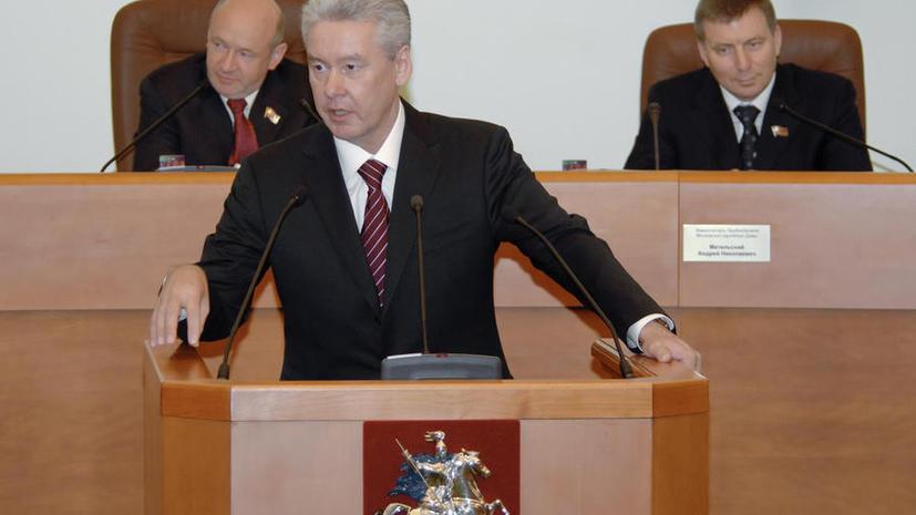 Госдума: Шансы Сергея Собянина вновь стать мэром Москвы очень высоки