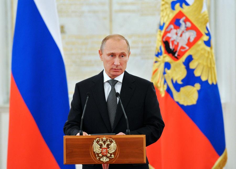 Владимир Путин второй год подряд возглавил список самых влиятельных людей мира по версии Forbes