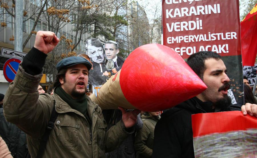 Левая партия Германии призвала к выводу немецких ракетных комплексов «Пэтриот» из Турции