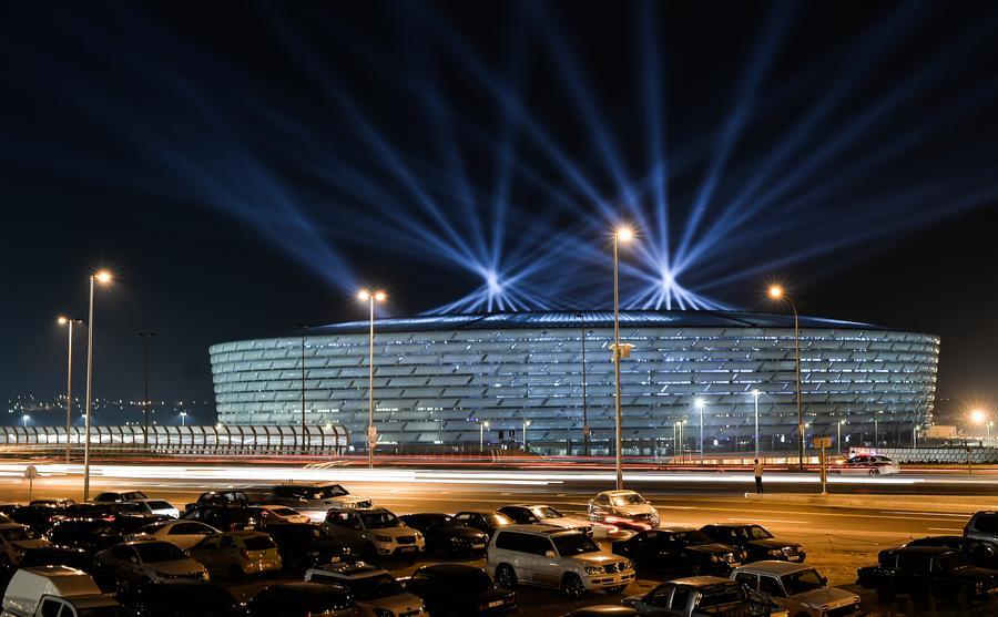Владимир Путин приехал на церемонию открытия Европейских игр в Баку