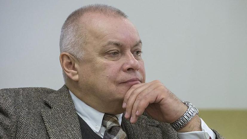 Дмитрий Киселев задал вопросы украинским властям