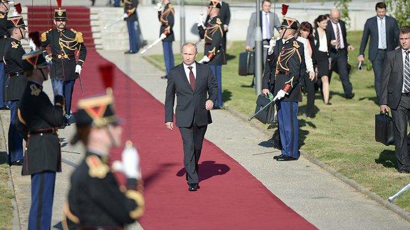Libération: Сексистом в глазах французов Путина сделал неточный перевод