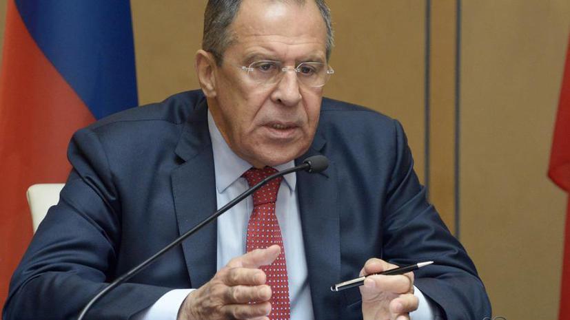 Сергей Лавров: На востоке Украины проходит по сути этническая чистка