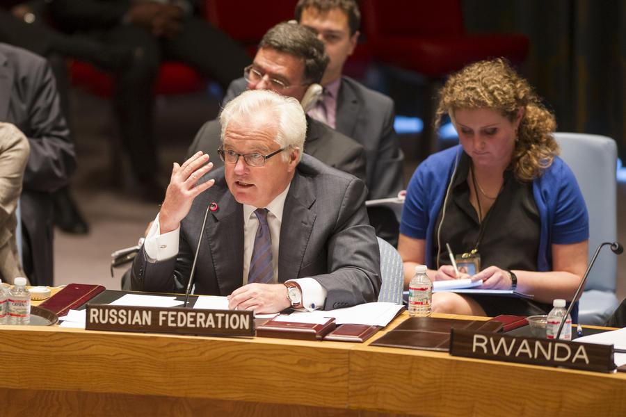 Виталий Чуркин: Присутствие миротворцев ООН в зоне конфликта на Украине возможно