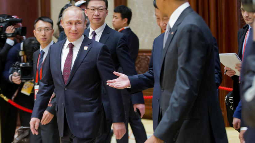 Владимир Путин и Барак Обама обсудили на саммите АТЭС двусторонние отношения