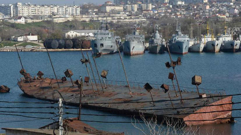 Россия и Украина пришли к соглашению о выведении всех украинских кораблей и самолётов из Крыма