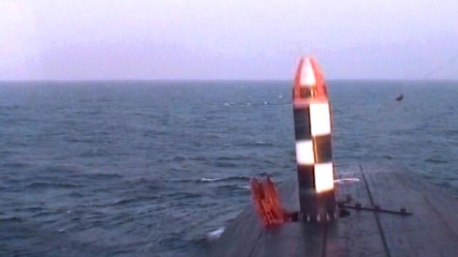 Испытание ракеты «Булава» обернулось нештатной ситуацией