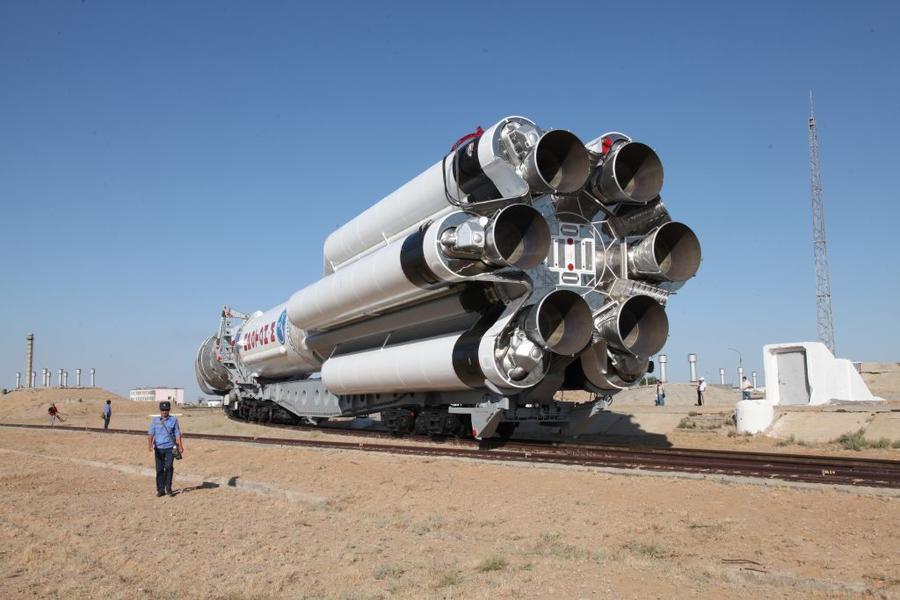 Авария ракеты-носителя «Протон-М» произошла из-за сбоя датчиков скорости