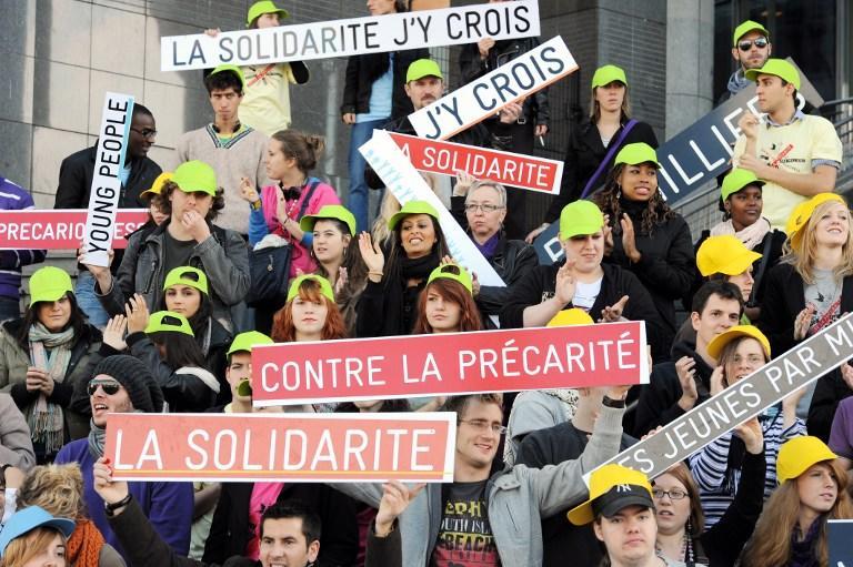 В Европе число безработных среди молодёжи достигло 6 млн