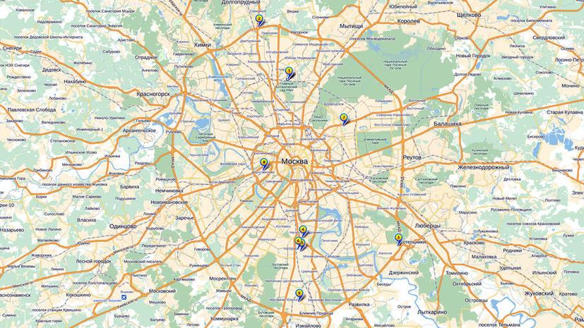 Составлен список горячих мигрантских точек Москвы