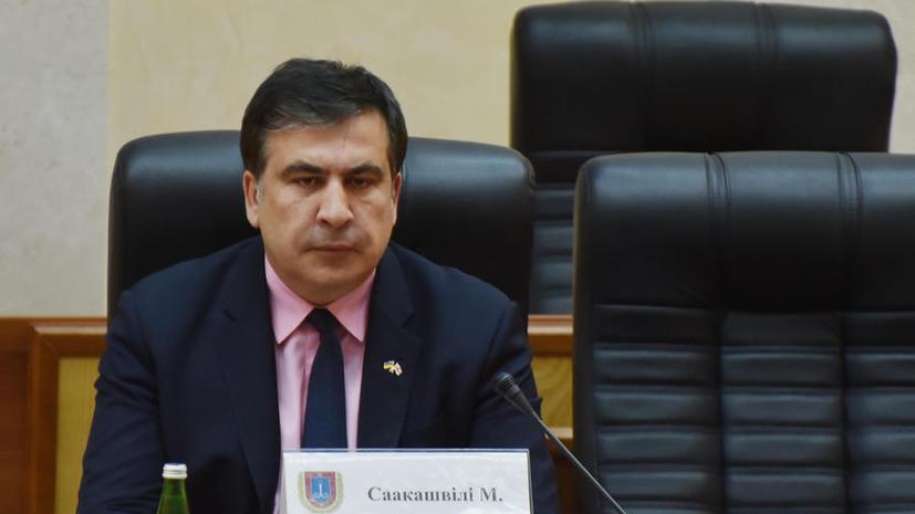 Британские СМИ: Михаил Саакашвили намерен привести Одессу к успеху назло Владимиру Путину