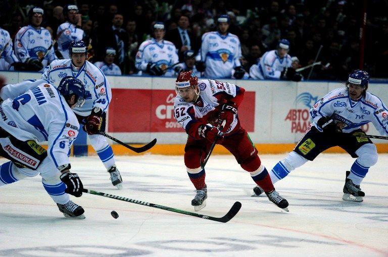 Сборная России обыграла Финляндию на старте Шведских игр