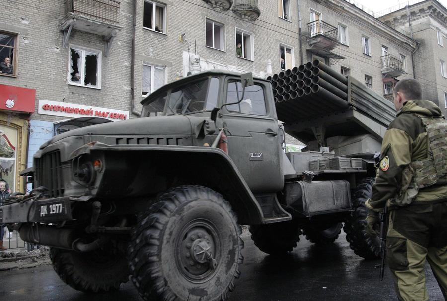 HRW: Украинские силовики используют оружие, запрещённое к применению в густонаселённых районах