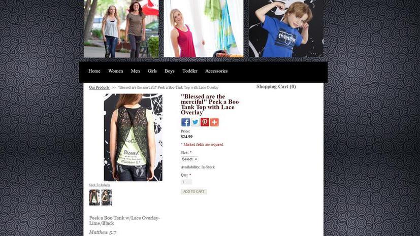 Мода по-христиански: экс-модель Victoria's Secret запустила линию одежды