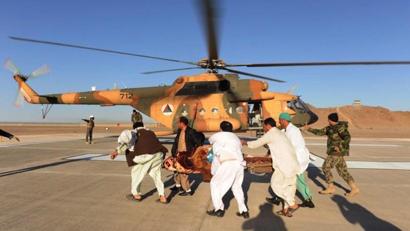 В Афганистане упал турецкий вертолет: члены экипажа и пассажиры попали в плен к талибам