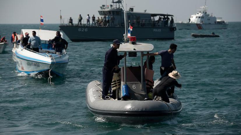 Капитан затонувшего в Таиланде парома принимал алкоголь и наркотики