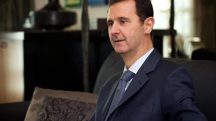 СМИ: Башар Асад заявил о высоком доверии к России