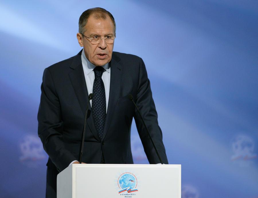 Сергей Лавров: Тему закрытия границы между Сирией и Турцией США подняли после начала операции ВКС РФ