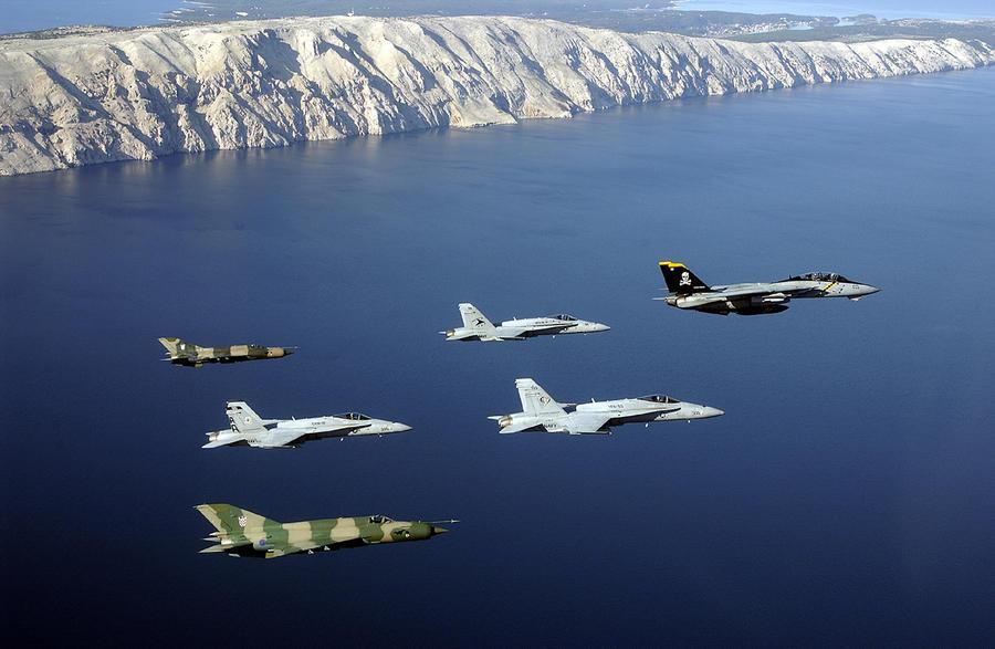 ВВС Хорватии отказались принимать истребители МиГ-21, некачественно отремонтированные на Украине