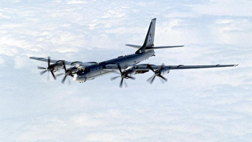 Японские истребители поднялись в небо из-за российских бомбардировщиков