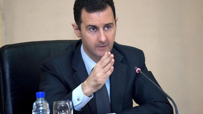 Башар Асад: Вооружённый конфликт может быть завершён в течение нескольких месяцев