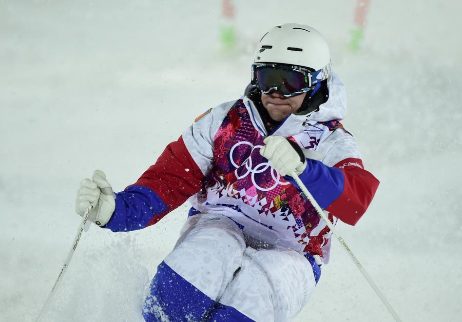 Российский фристайлист Александр Смышляев завоевал бронзовую медаль на Олимпиаде в Сочи