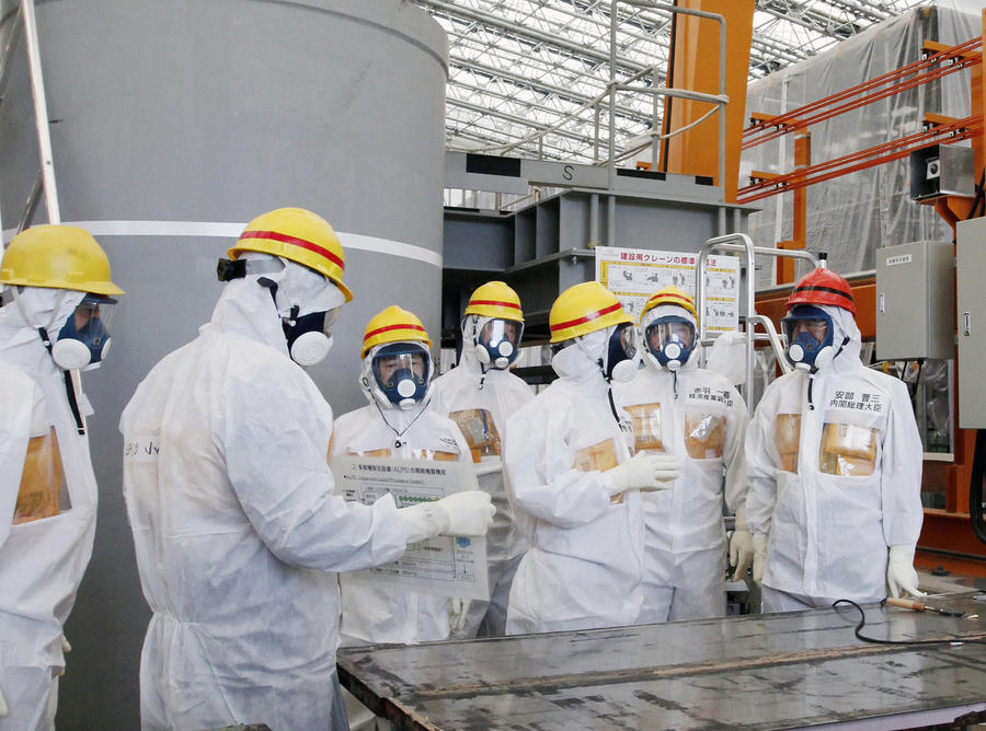 В антирадиационном заборе на Фукусиме обнаружена пробоина