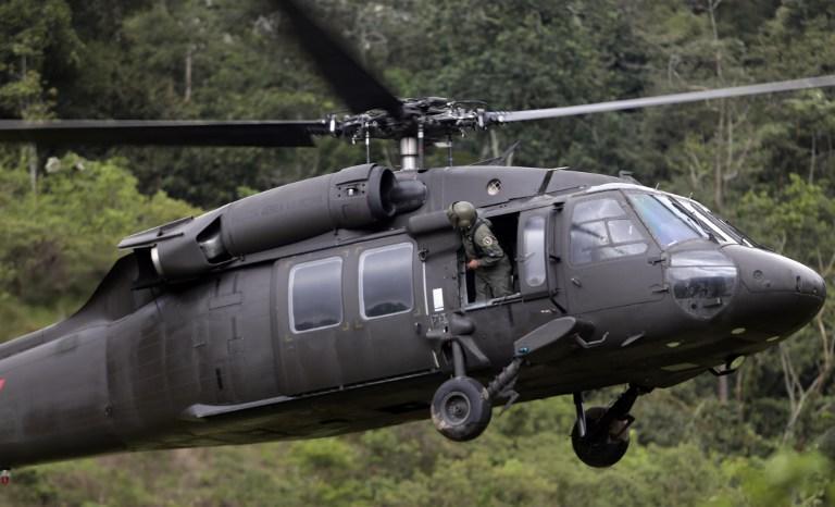 В результате крушения вертолёта в Мексике погибли 5 полицейских-спасателей