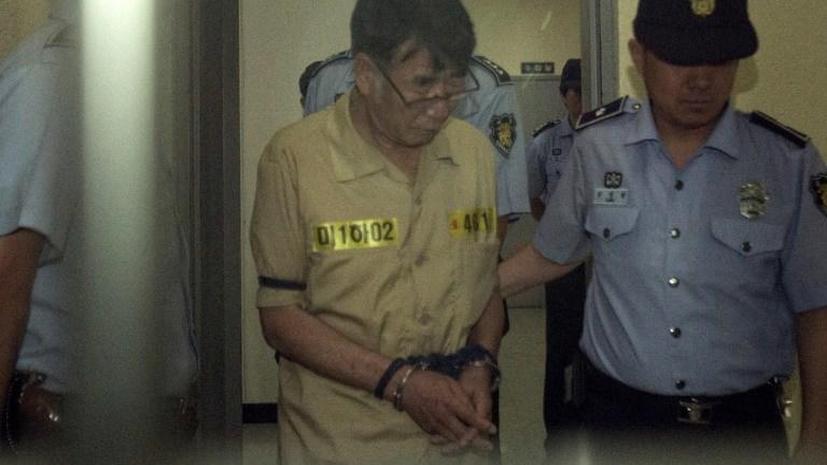 Капитана затонувшего в Южной Корее парома «Севол» приговорили к 36 годам тюрьмы