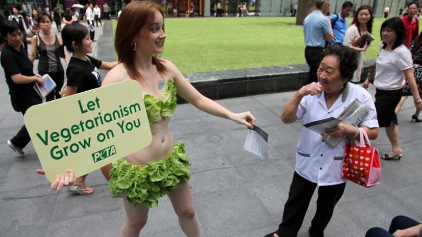 Американские ученые: вегетарианство продлевает жизнь