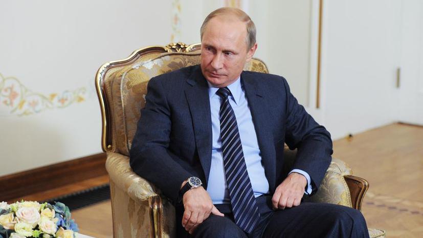 Владимир Путин: Разрешить конфликт в Сирии можно только поддержкой Башара Асада