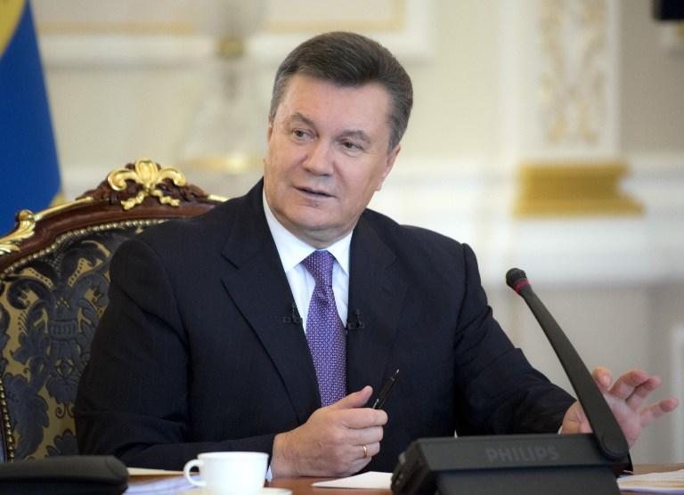 Виктор Янукович призвал зарубежных политиков прекратить борьбу за Украину