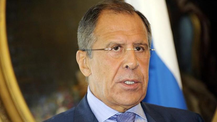 Сергей Лавров: Во внешней политике нужно прямо заявлять о своих интересах